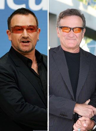 Bono ve Robin Williams