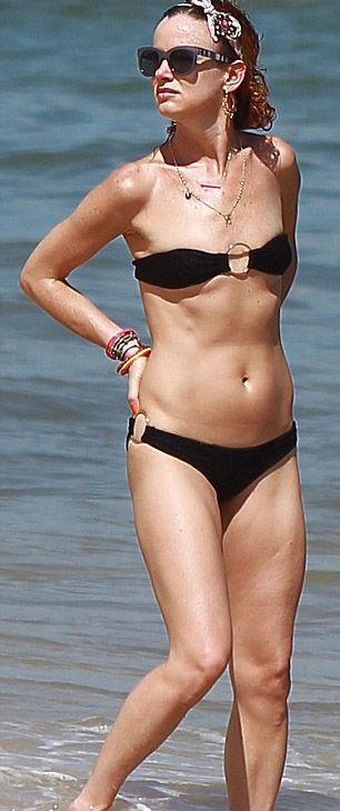 Juliette Lewis bikiniyle görüntülendi - 7
