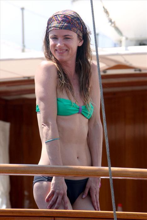 Juliette Lewis bikiniyle görüntülendi - 9