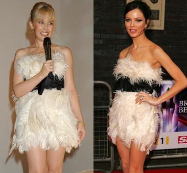 Kylie Minogue ve Georgina Chapman