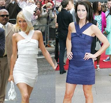 Paris Hilton ve Kirsty Gallacher