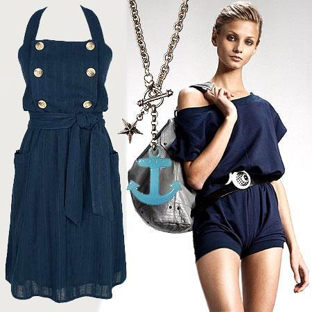 En favori renginiz lacivert olmasa da bu elbiseye bayılacaksınız!