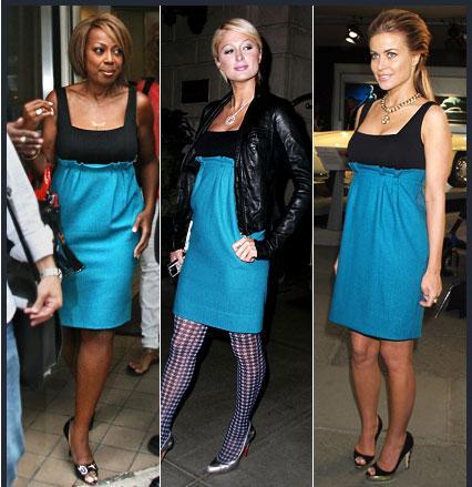 Star Jones Reynolds - Paris Hilton - Carmen Electra