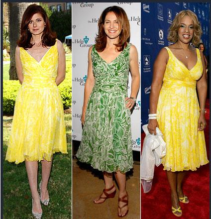 Debra Messing - Amy Brenneman - Gayle King