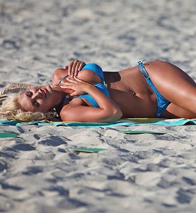 Brooke Hogan'ın havuz sefası - 8