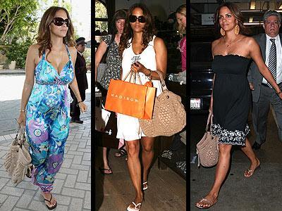 Yeni anne olan Halle Berry, Los Angeles sokaklarında Gerard Darel marka çantasıyla sokaklarda boy gösteriyor. Aynı çantadan Angelina Jolie ve Eva Longoria'da da var...