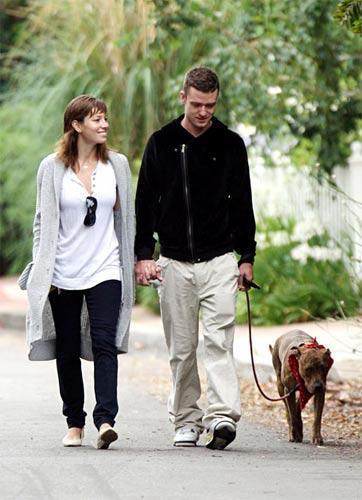 Justin Timberlake ve Jessica Biel