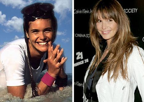 Elle Macpherson - 1986'da, Sports Illustrated'a kapak olduktan sonra bütün dünyada üne kavuşan model, Friends dizisinde konuk oyunculuk yaptı, şimdi de Revlon kozmetik markasının sözcüsü.