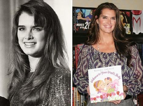 Brooke Shields - 14 yaşında, Vogue dergisine en genç yaşta kapak olarak tarihe geçen eski model, 16 yaşında da Calvin Klein reklamlarında yer alarak sansasyon yaratmıştı. Şimdilerde ise televizyon şovlarına konuk oluyor.