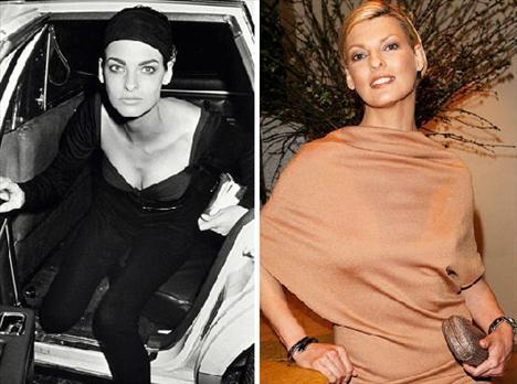 Linda Evangelista - Bir zamanlar, sürekli saç stilini değiştirmesiyle ünlüydü, 2006'da ilk çocuğunu doğurmuş olsa sonra bile zaman zaman modellik yapmaya devam ediyor, hem de günlüğü en az 10.000 dolara!
