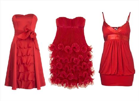 Kırmızı elbise alternatifleri - 1