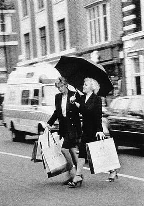Lady Diana ve Marilyn Monroe