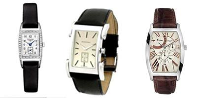 Soldan sağa:Longines 2.900 Dolar, Burberry 599 YTL, Guess 220 YTL