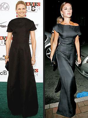 Soldaki: Jennifer Morrison Sağdaki: Victoria Beckham