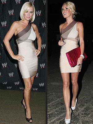 Soldaki: Jenny McCarthy Sağdaki: Heidi Montag