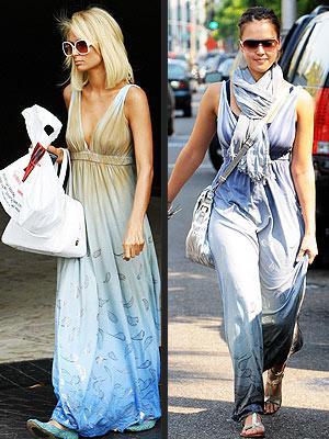 Soldaki: Paris Hilton Sağdaki: Jessica Alba