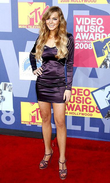 Lindsay Lohan... Rüküş!