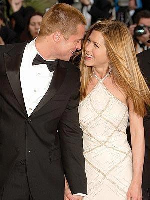 Jennifer Aniston ve Brad Pitt'in gözler önünde ve herkesin gıpta ettiği bir evliliği vardı.