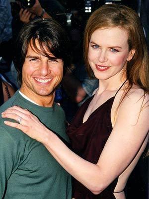 Tom cruise ve Nicole Kidman da tüm dünyaca tanınan ve sevilen çiflerindendi...