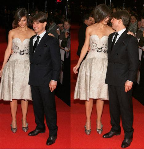 Tom Cruise şimdilerde güzel aktris Katie Holmes ile evli ve çiftin Suri adında bir çocukları var.