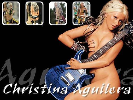 Aguilera idol oldu!