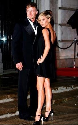 Victoria ve David Beckham