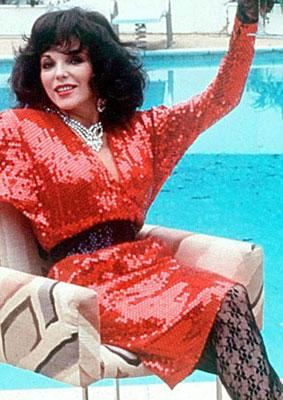 Joan Collins, 1985