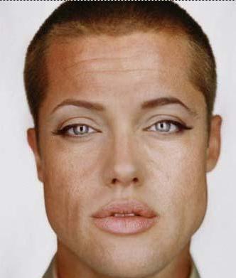 Brad Pitt ve Angelina Jolie karışımı...