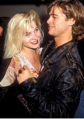 """Pitt 1988'de Christina Applegat ile birlikte oldu ve yine aynı yıl ayrıldı. Söylenenlere göre bu da bir tür """"gecelik"""" ilişkiydi."""