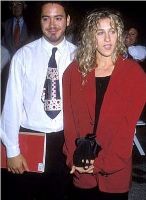 Robert Downey Jr., Sarah Jessica Parker'ın evlenmeden önce ilişki yaşadığı ünlülerden biri.