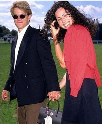Matt Damon ve Minnie Driver.. İkilinin isimleri bile yanyana kulağa tuhaf geliyor.