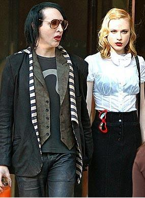 Evan Rachel Wood ve Marilyn Manson