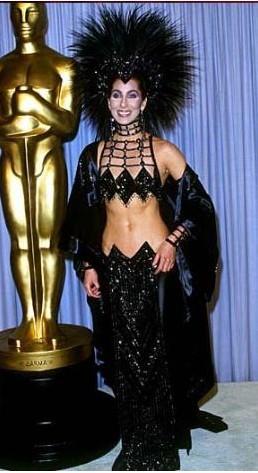 Cher'in elbisesini unutmak ne mümkün.