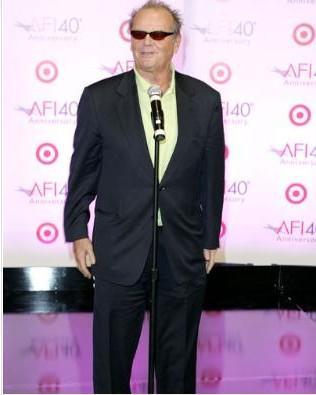 Jack Nicholson bir dönem böyle görünüyordu.