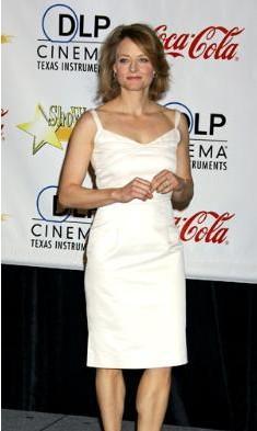 Jodie Foster da zayıflık kurbanı.