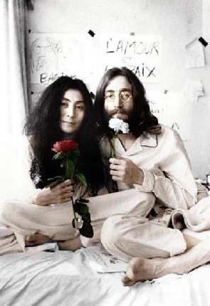 John Lennon ve Yoko Ono