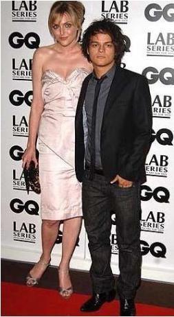 Caz piyanisti Jamie Cullum ve Sophie Dahl
