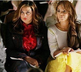 Beyonce ve annesi Tina