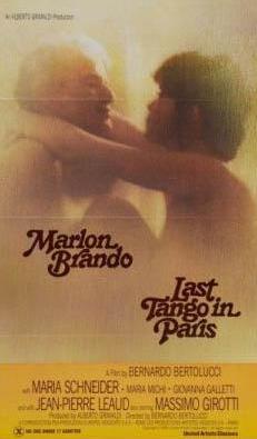 Bernardo Bertolucci'nin Paris'te Son Tango fiminde Maria Schreider ve Marlon Brando'nun büyük bir cesaretle oynadığı bu sahne sinemanın en etkileyici sevişme sahnelerinden biri .