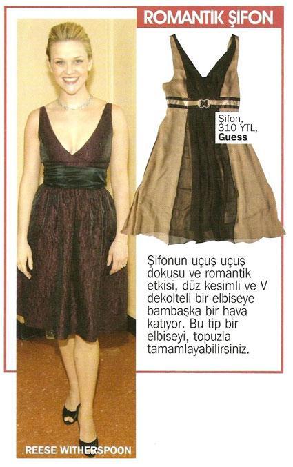 Ünlülerin elbise seçimleri