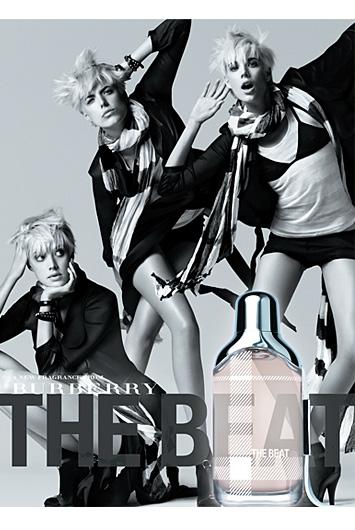 Agness Deyn - Burberry The Beat
