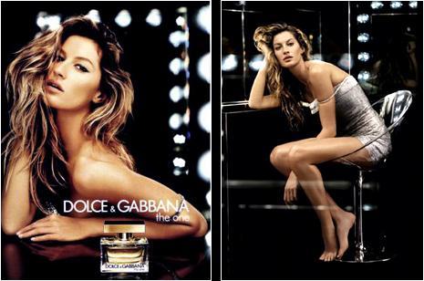 Gisele Bundchen - Dolce&Gabbana The One