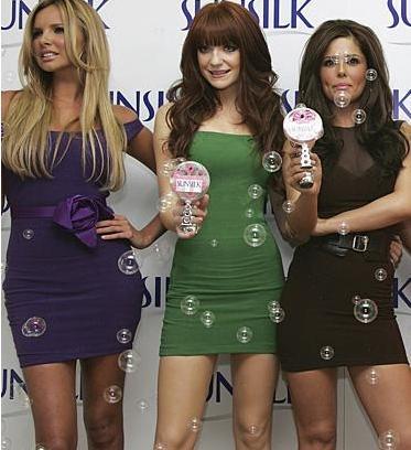 Nadine Coyle, Nicola Roberts ve Cheryl Cole