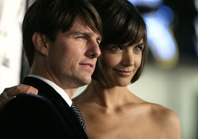 Tom Cruise ve Katie Holmes Yıllık toplam kazançları: 13.25 milyon dolar