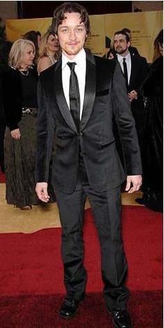 James McAvoy, 1.70 cm boyunda.