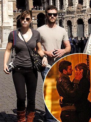 Jessica Biel ve Justin Timberlake (Roma)