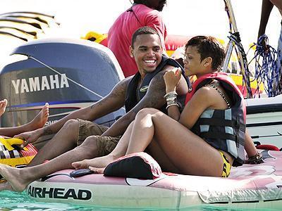 Rihanna ve Chris Brown (Barbados)