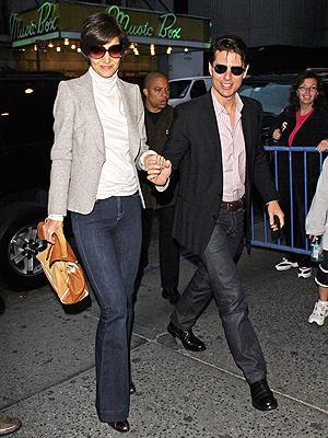 Tom Cruise ve Katie Holmes (New York)