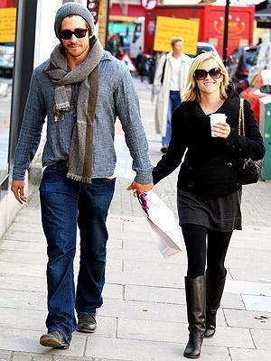 Jake Gyllenhaal ve Reese Witherspoon (Londra)