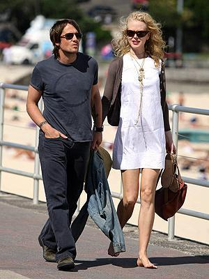 Nicole Kidman ve Keith Urban (Sidney)